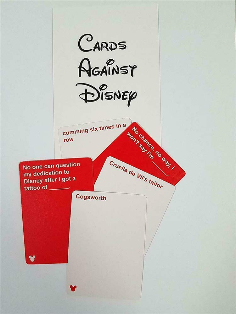 Cards Against Disney Samples Cards