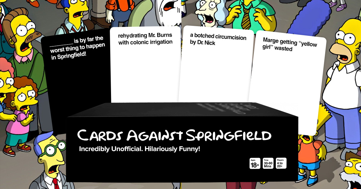 Cards Against Springfield
