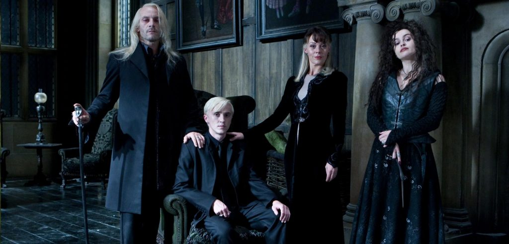 Malfoy and Black family members who hate muggle-borns