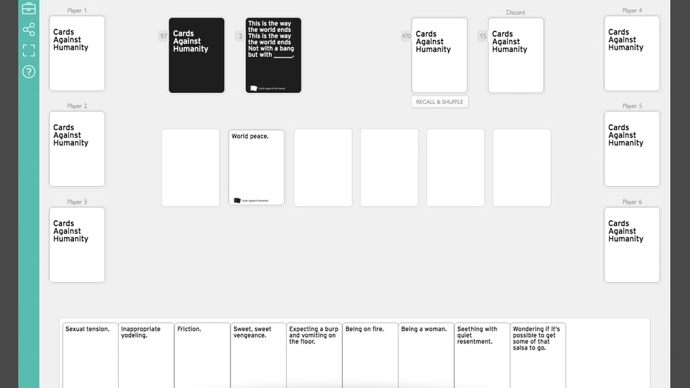 cards against humanity playingcards io