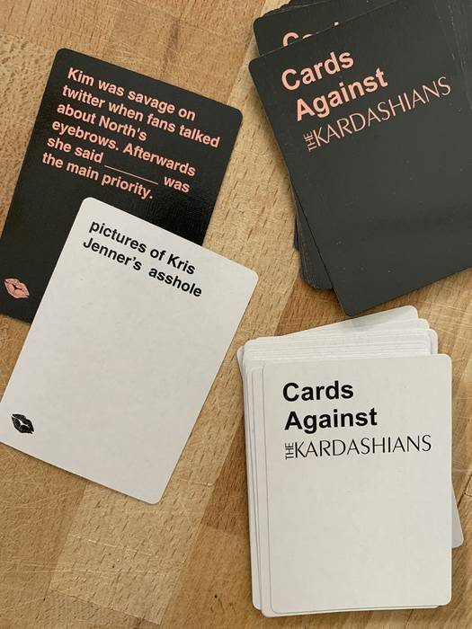 Cards against Kardashians example