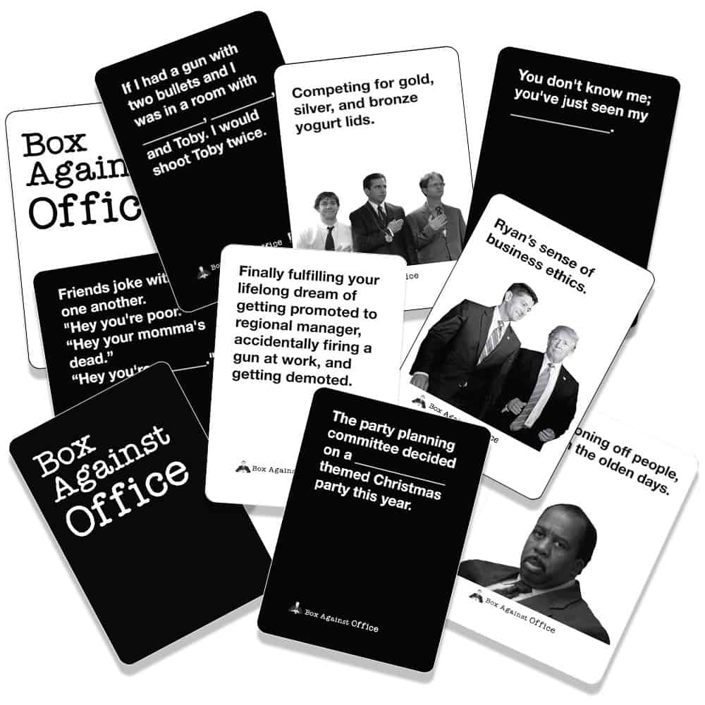 Box Against Office Cards 3