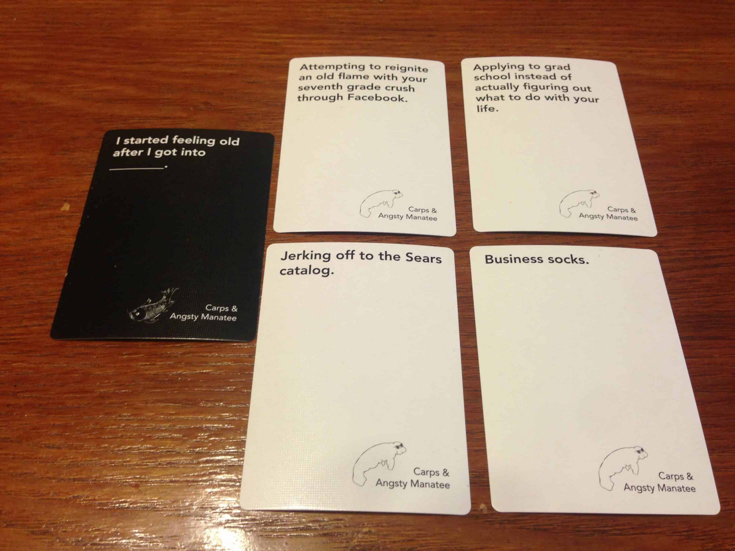 Carbs & Angsty Manastee Cards 4