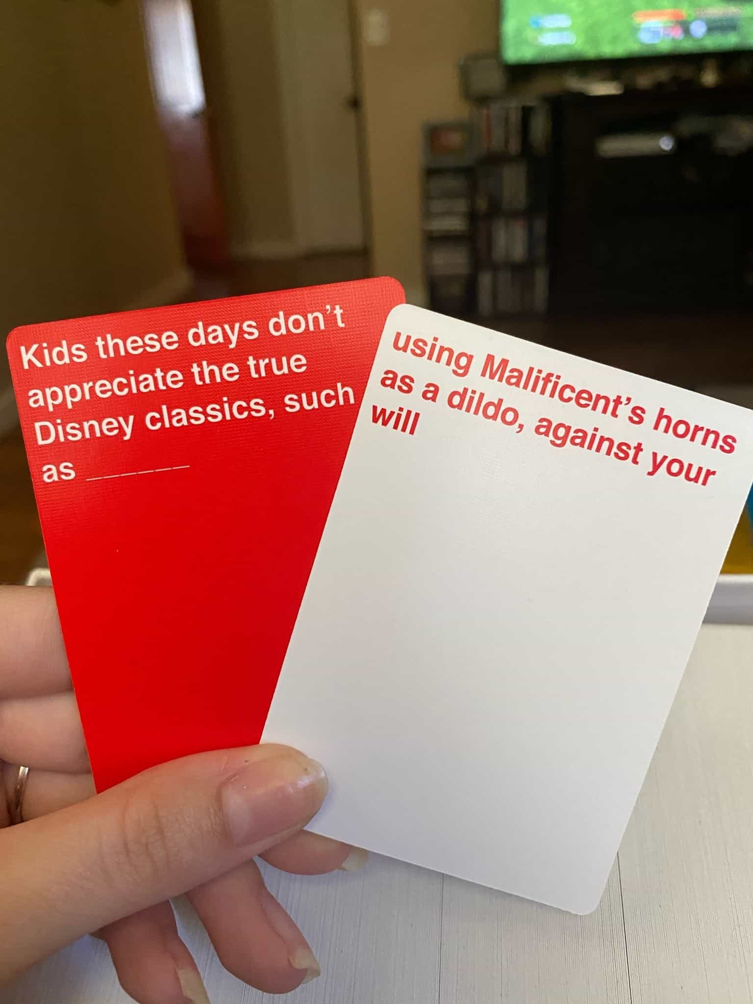 Cards Against Disney Cards Combination