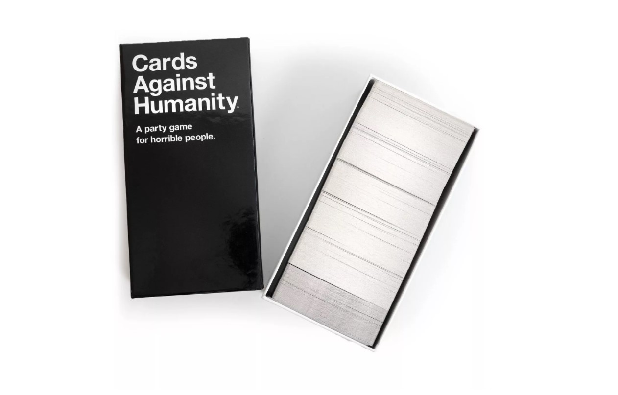 Cards Against Humanity Opened Package