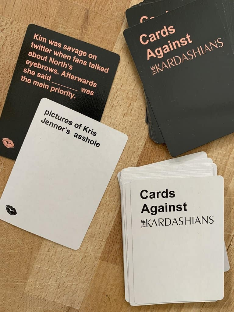 Cards Against Kardashians Cards Example