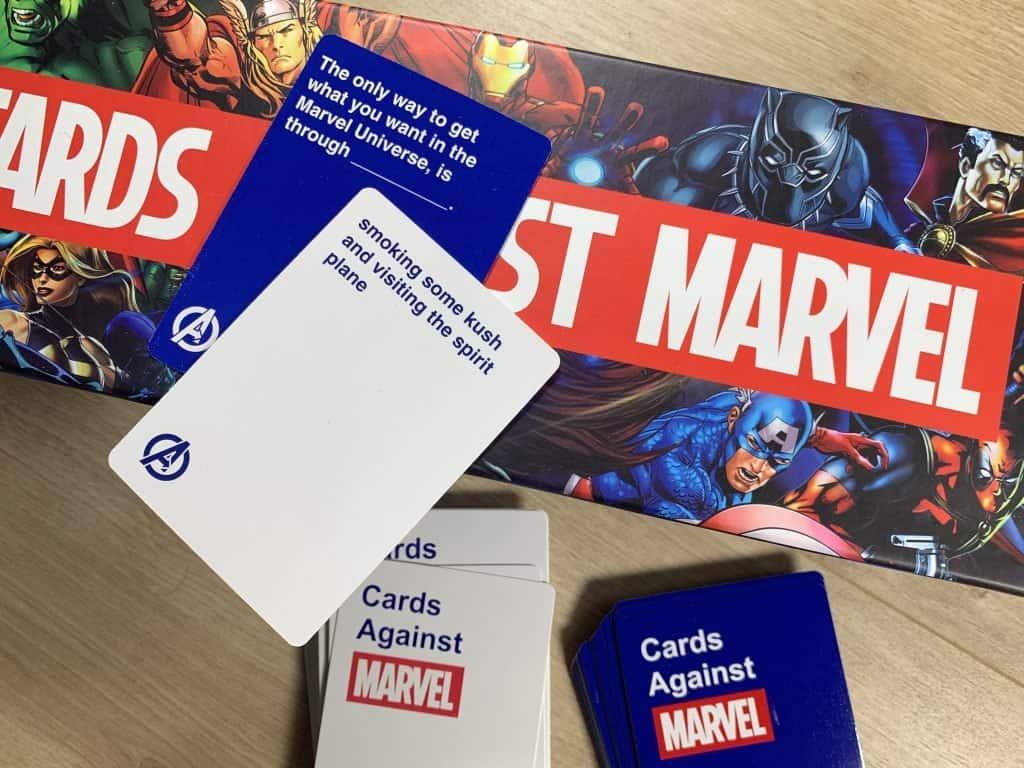 Cards Against Marvel Cards 1