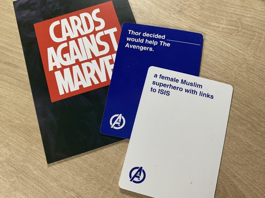 Cards Against Marvel Cards 2