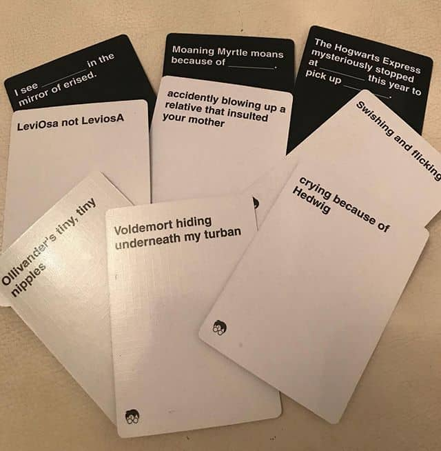 Cards Against Muggles Cards List Example