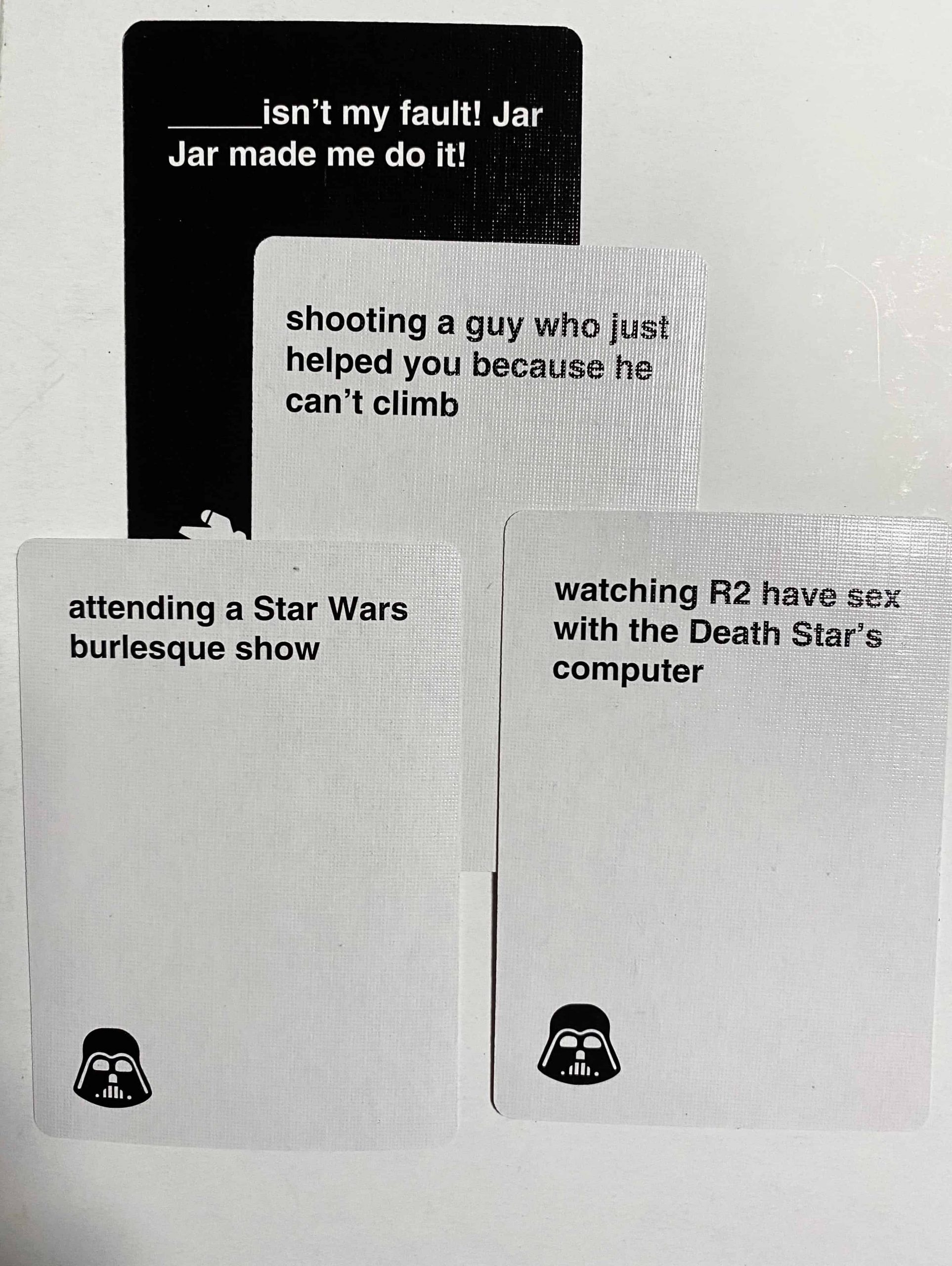 Cards Against Star Wars 2