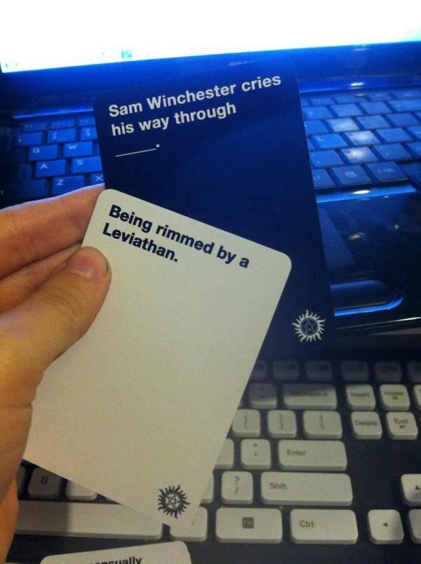 Cards Against Supernatural Combination