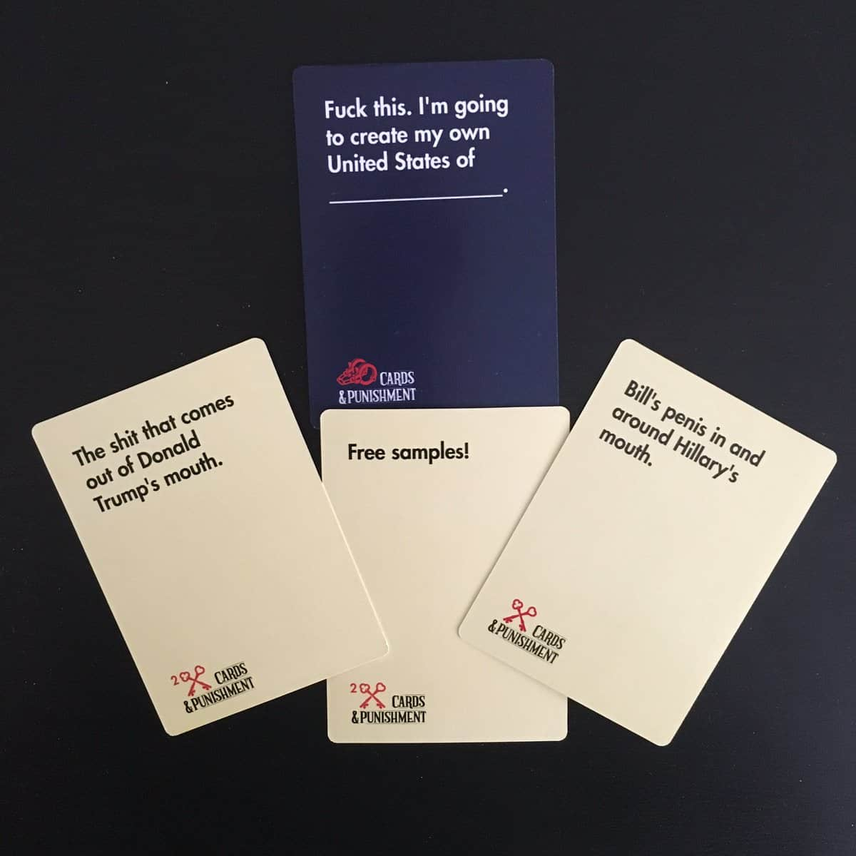 Cards And Punishment Cards Example