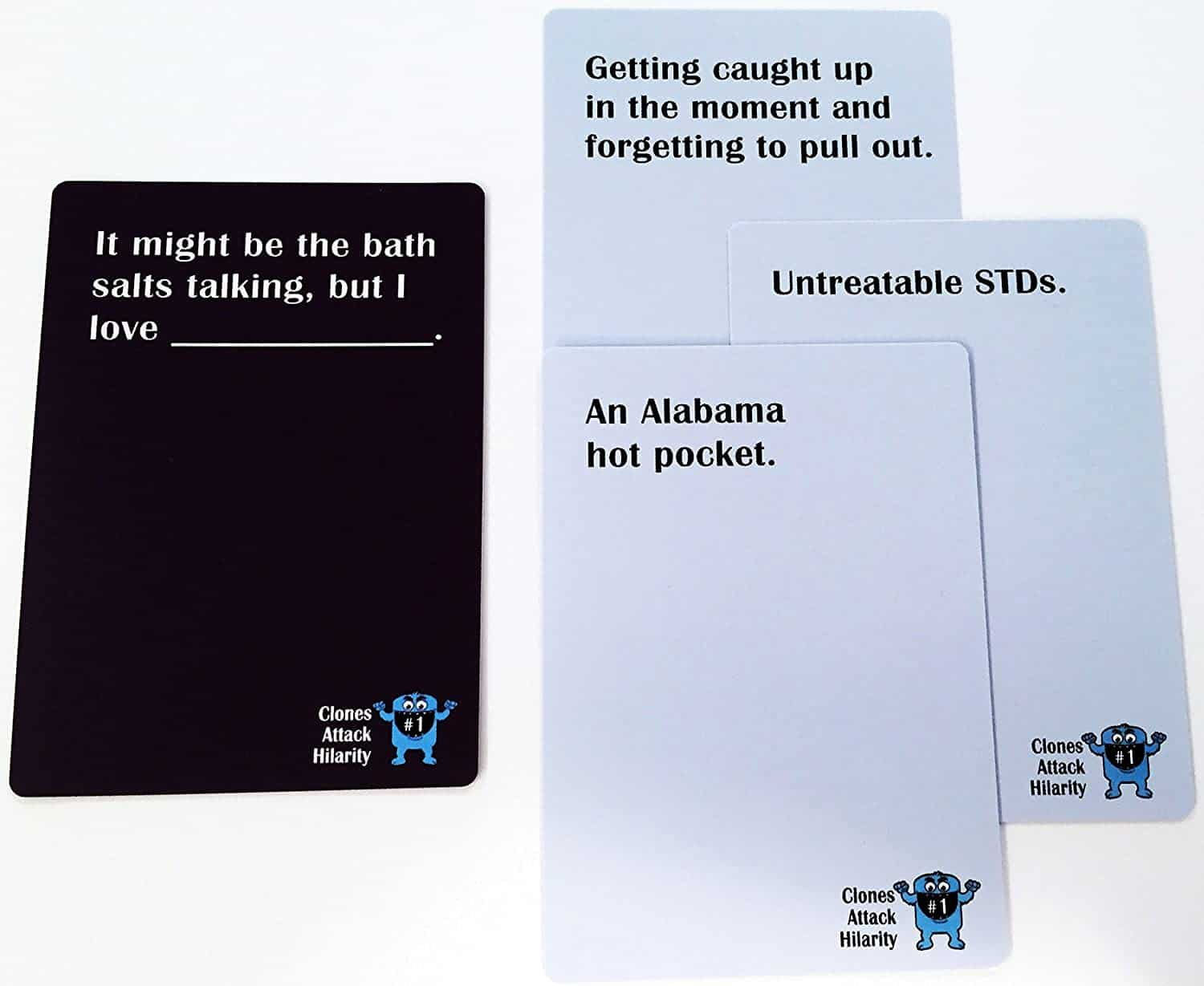 Clones Attack Hilarity Cards List Example
