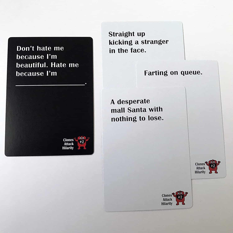 Clones Attack Hilarity Cards Example 2