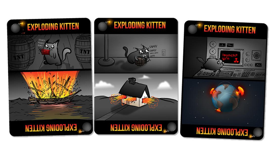 Exploding-Kitten-Card Rules