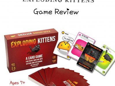 Exploding Kittens Review Cover