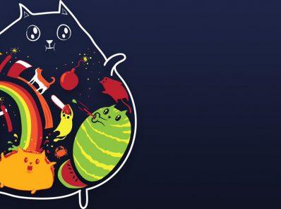 Exploding Kittens intro
