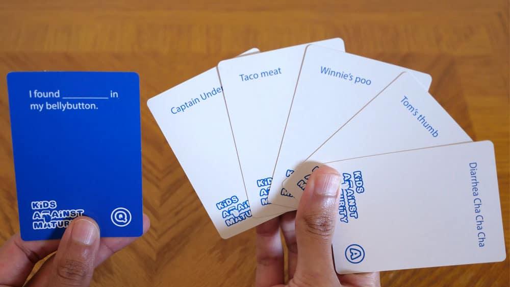 Kids Against Maturity Cards List 1