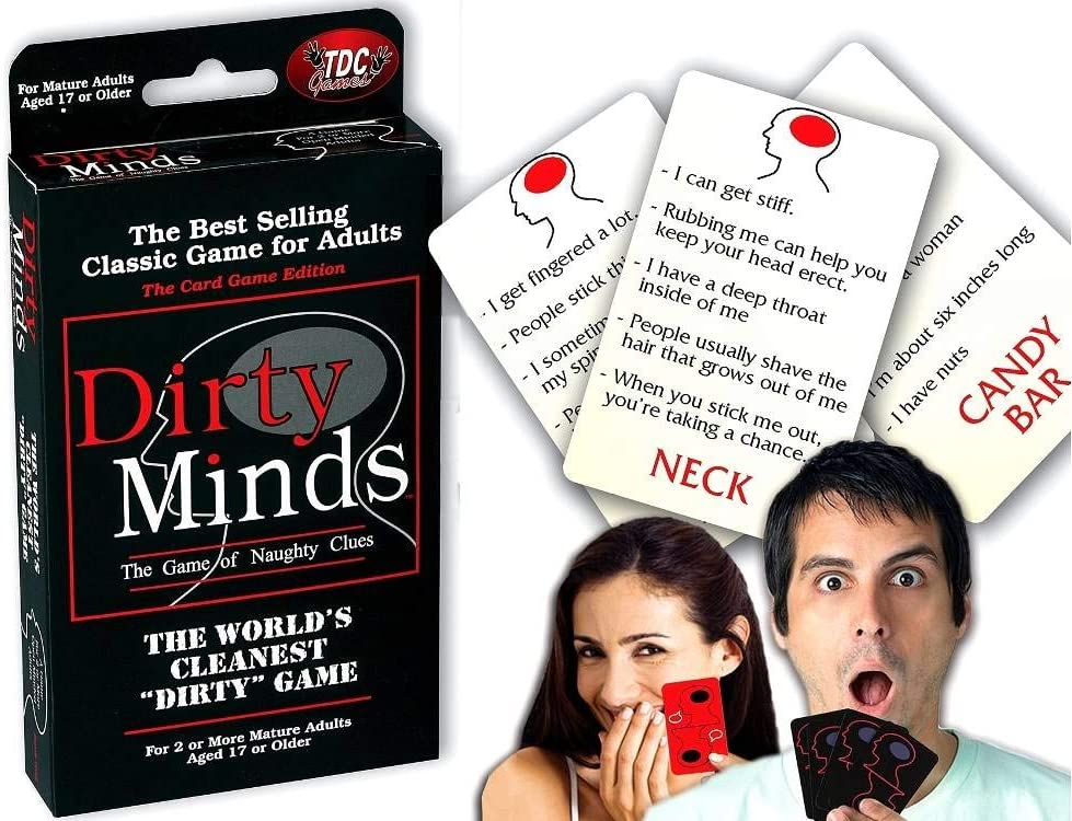 Travel Dirty Minds Card Game