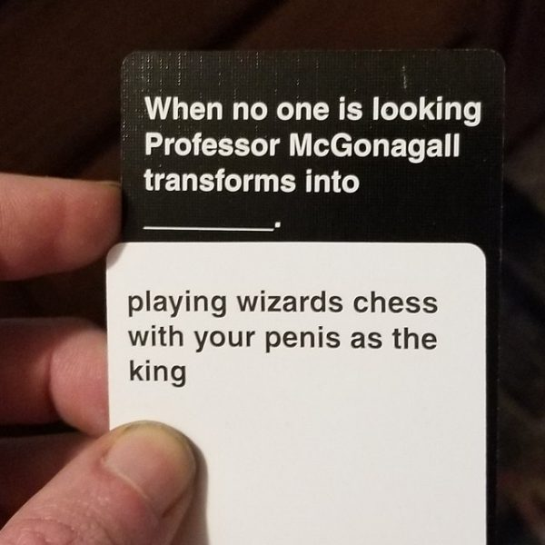 Wizards Chess Supernatural CAH