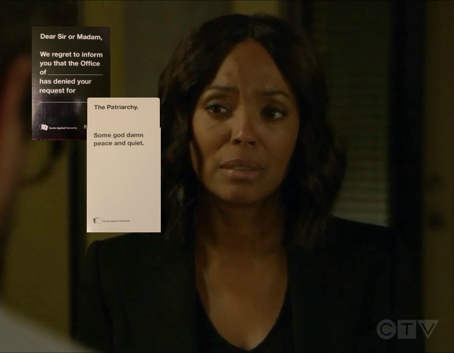 Criminal Minds Hilarious Card Example