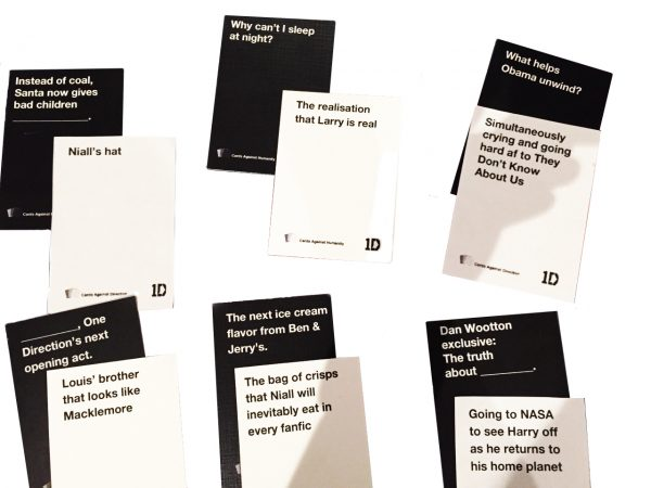 Cards Against 1D Combiantions