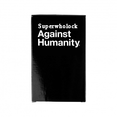 Cards Against SuperWholock