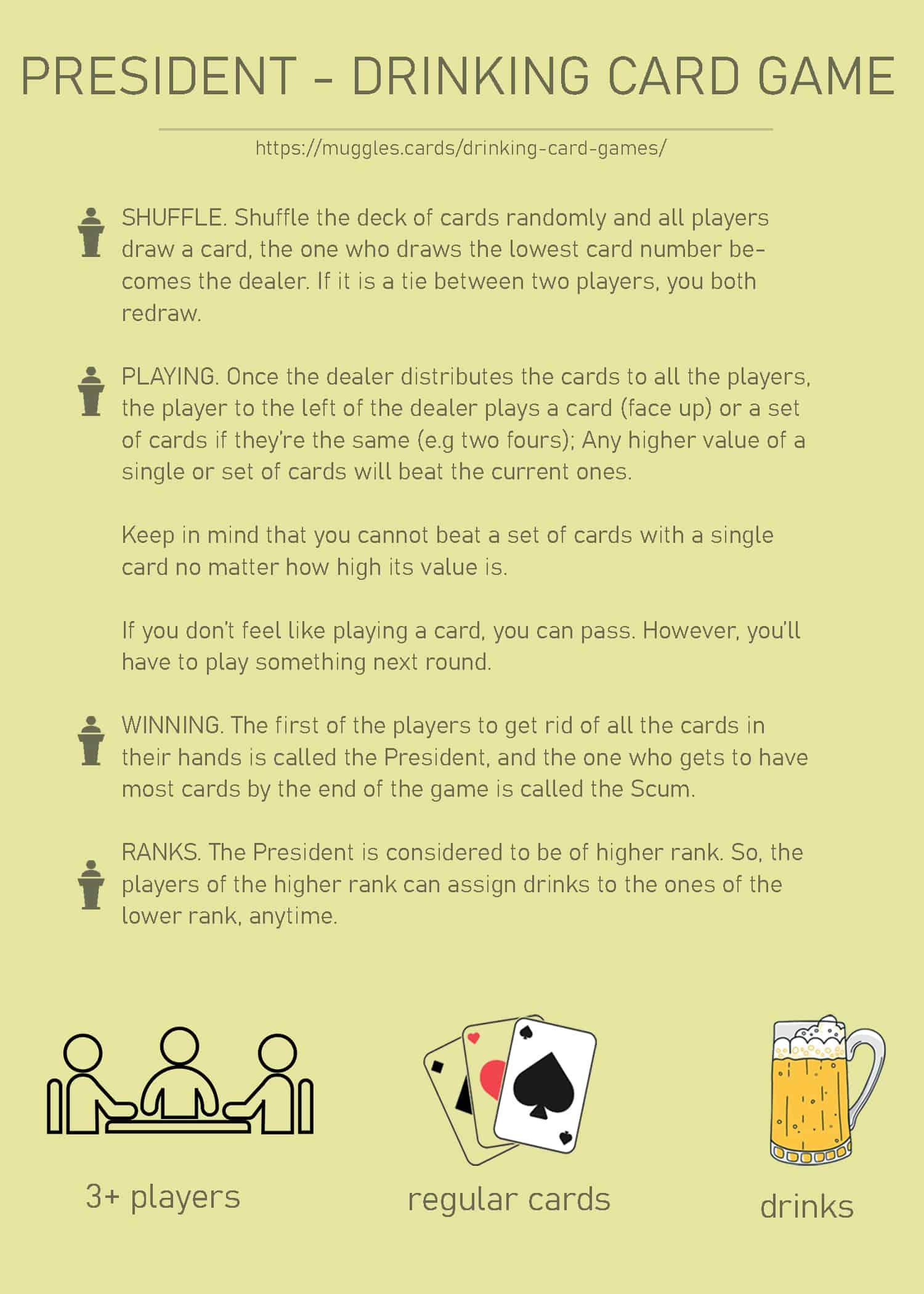 President Drinking Game