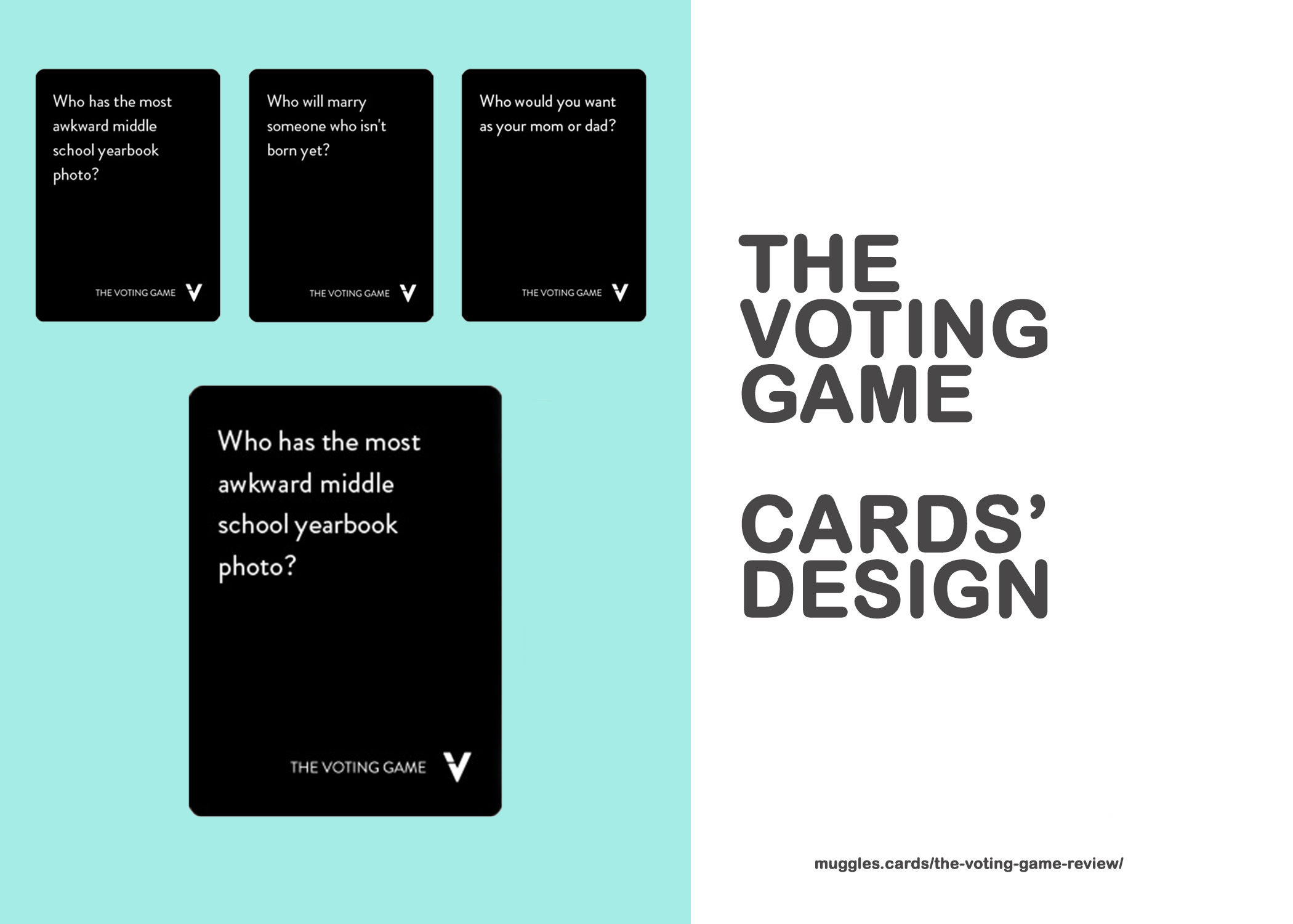 The Voting Game CARDS DESIGN