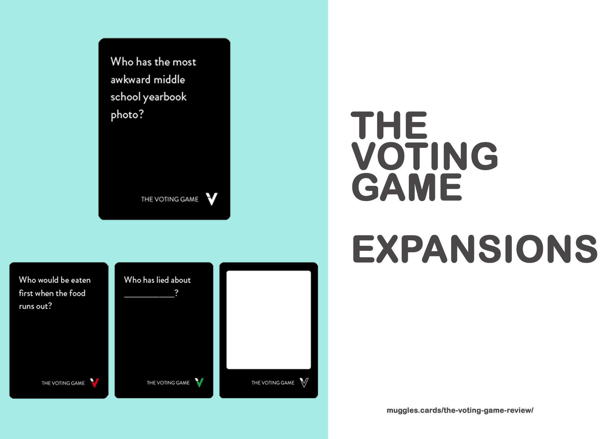 The Voting Game EXPANSIONS