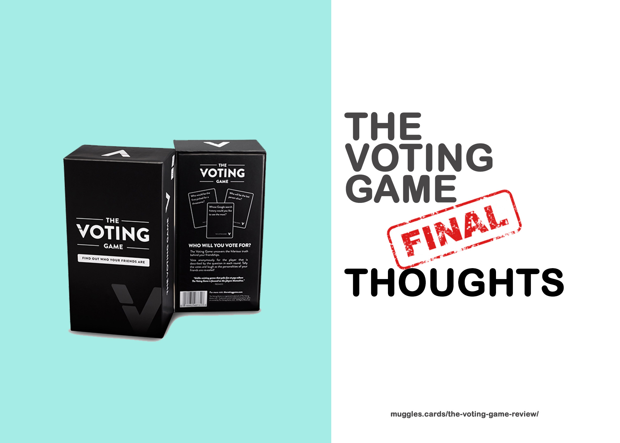 The Voting Game Final Thoughts