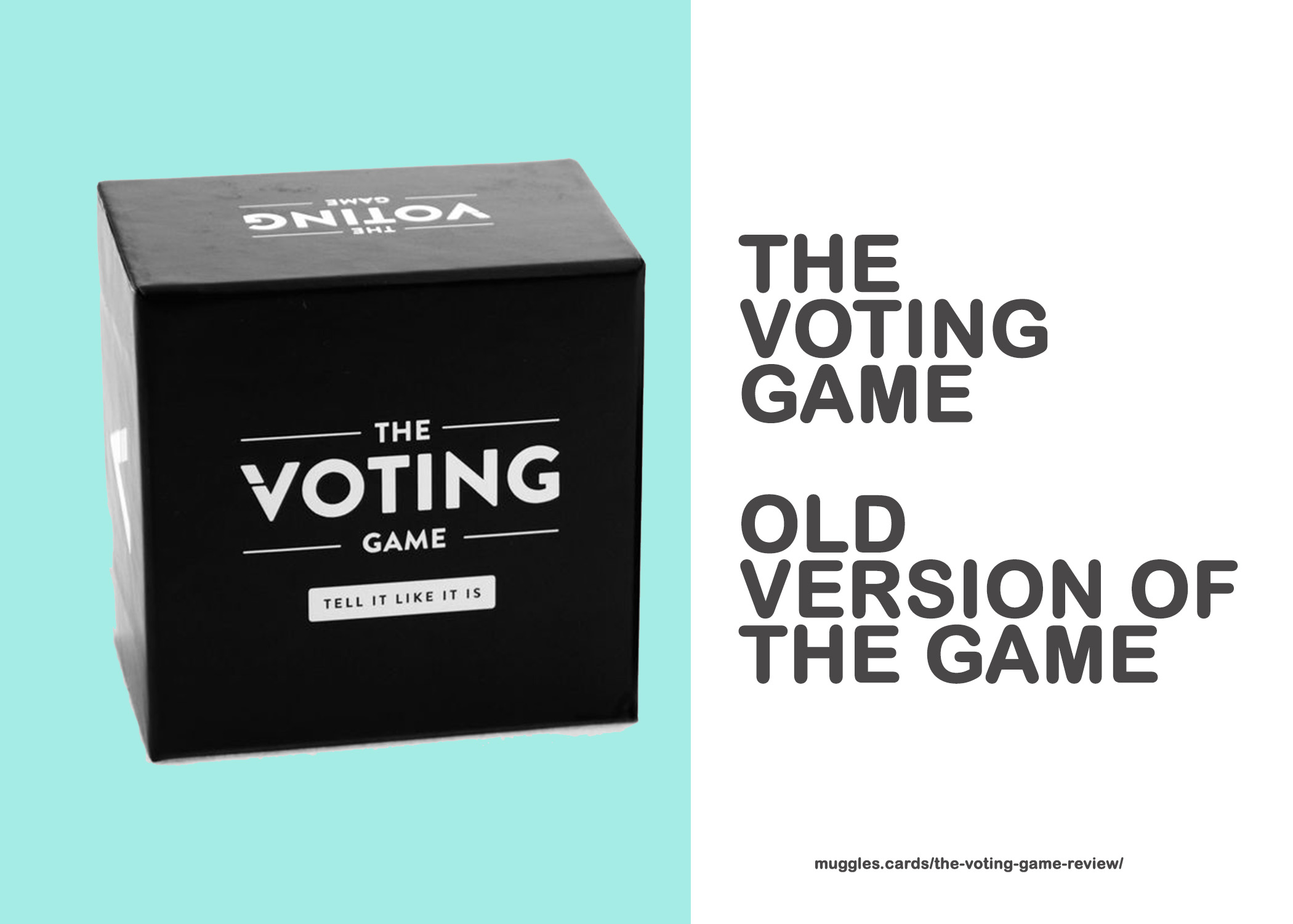 The Voting Game Old Version
