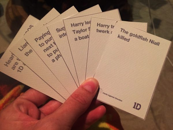 White Cards 1D