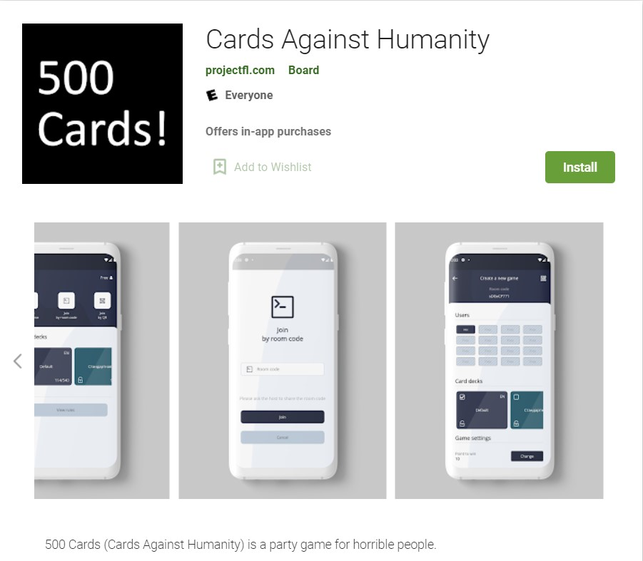 500 Cards Against Humanity