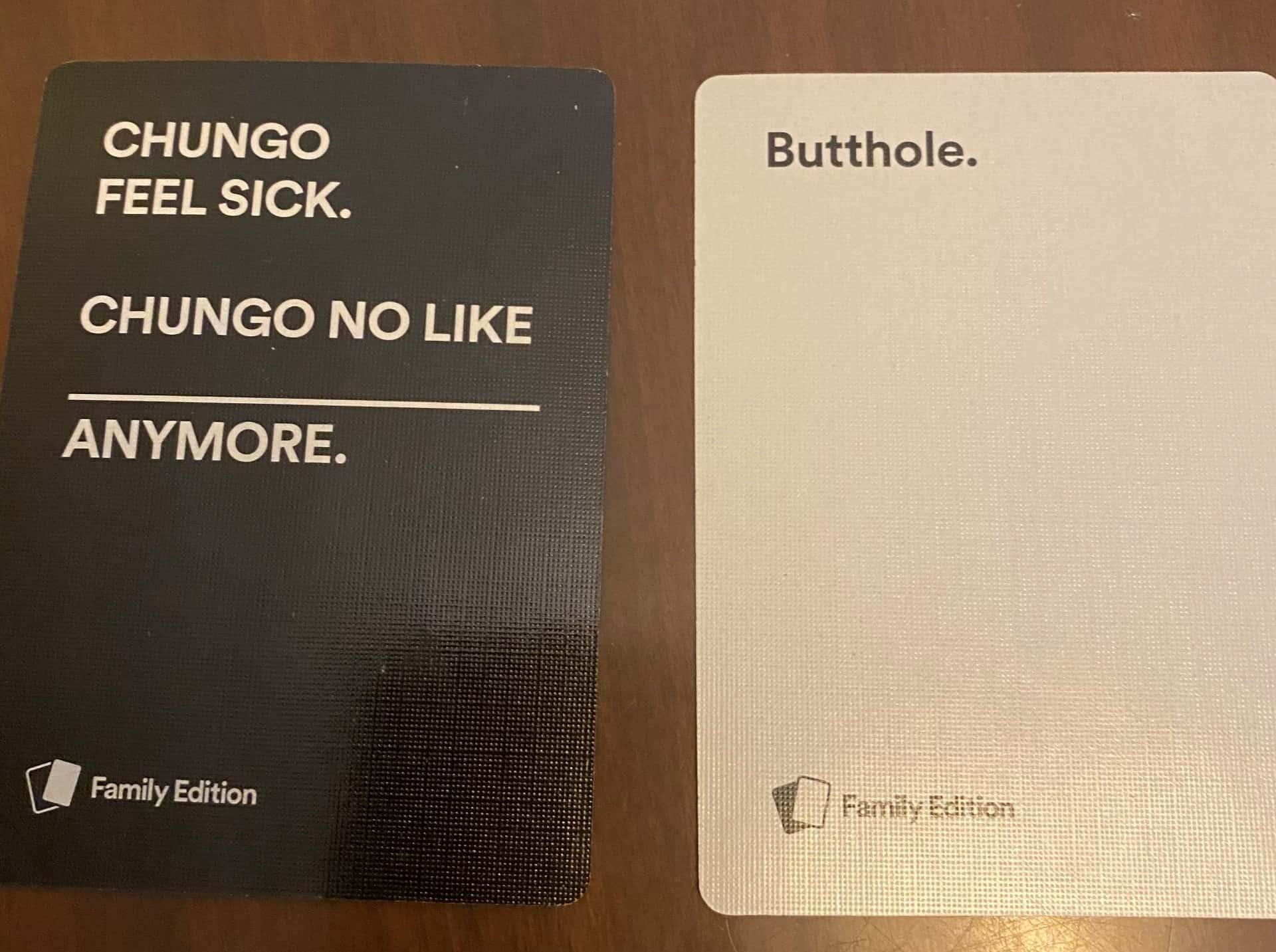 Chungo Cards