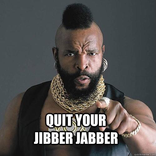 Jibber jabber Cards Against Humanity