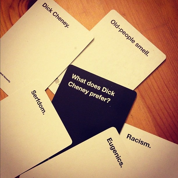 Serfdom Cards Against Humanity