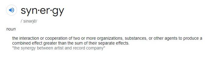 Synergy Definition
