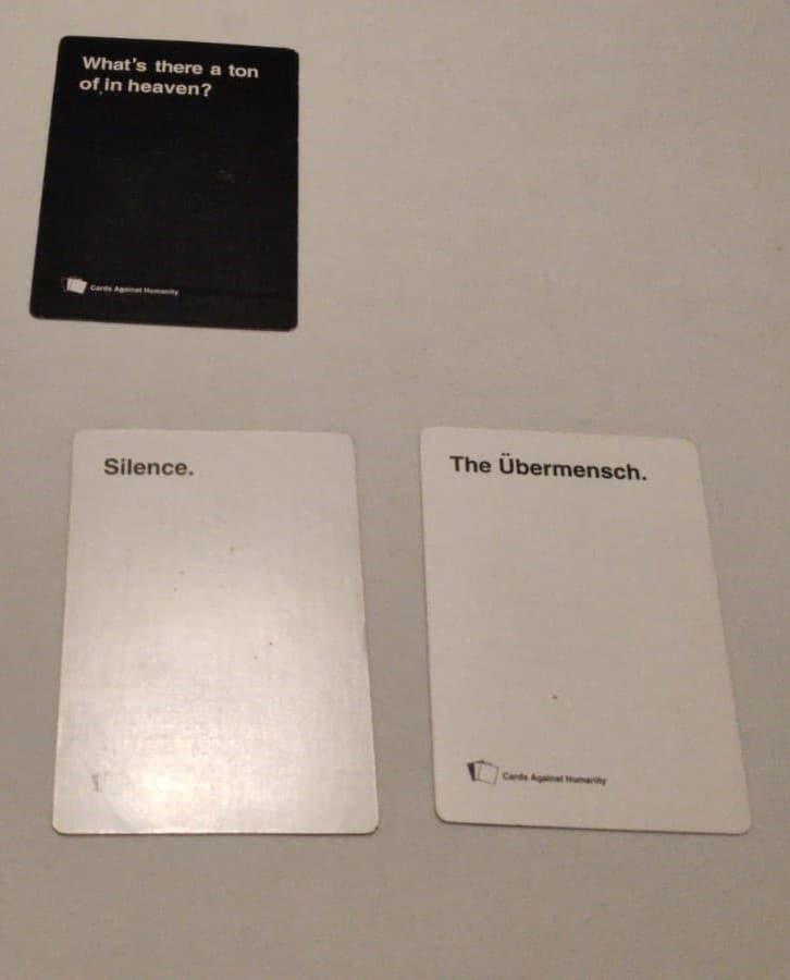 The Ubermensch Card