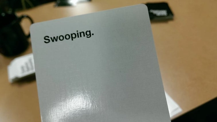 Swooping Cards Against Humanity