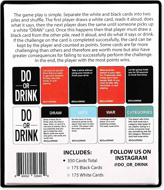 Do or Drink back