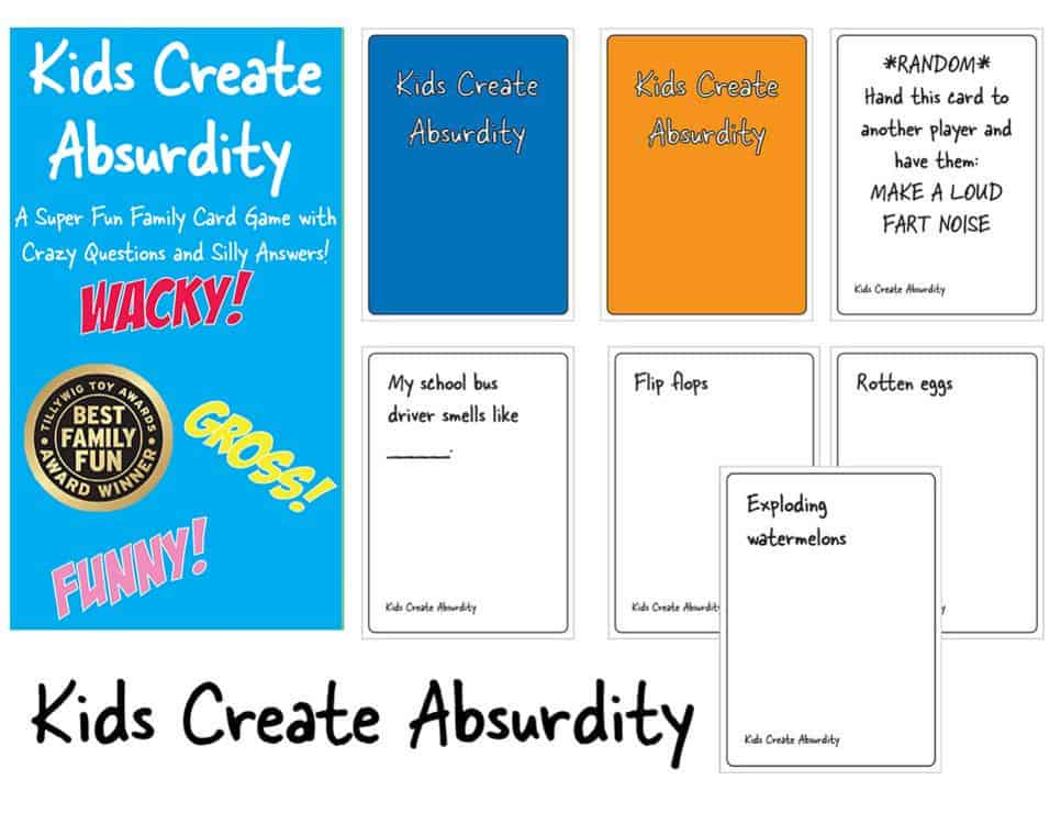 Kids create absurdity