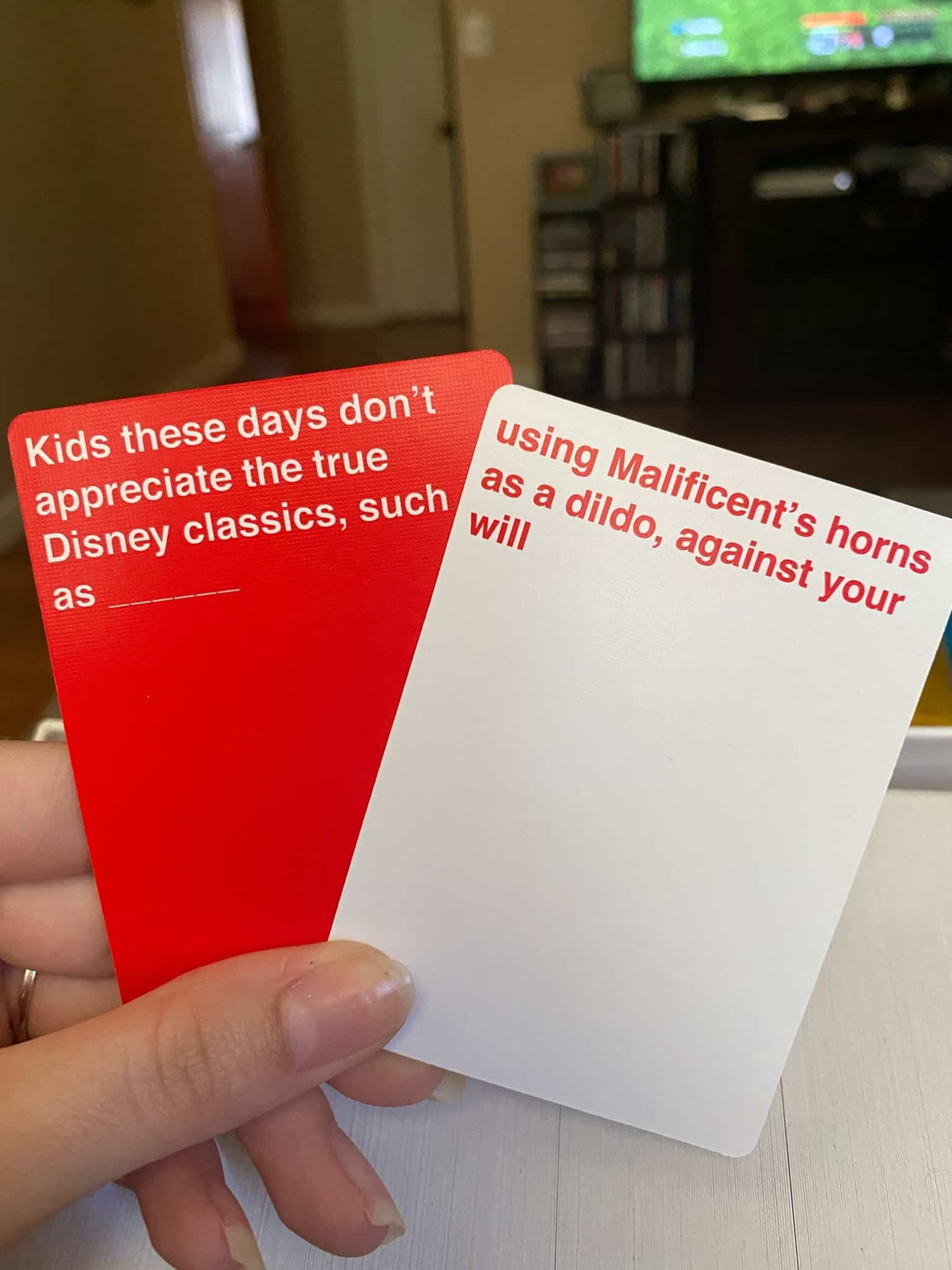 Cards Against Disney - Combination 3