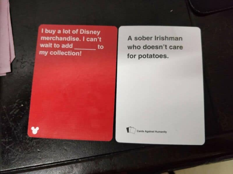 Cards Against Disney - Combination 5