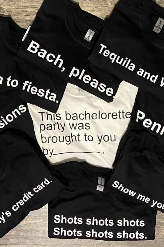 Cards Against Humanity Bachelorette T-Shirts