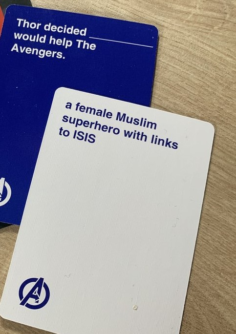 Cards Against Marvel - Combination Example 1