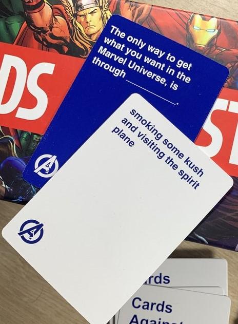 Cards Against marvel - Card Combination 3