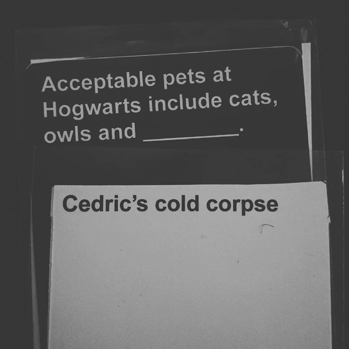 Combination 1 - Cards Against Muggles