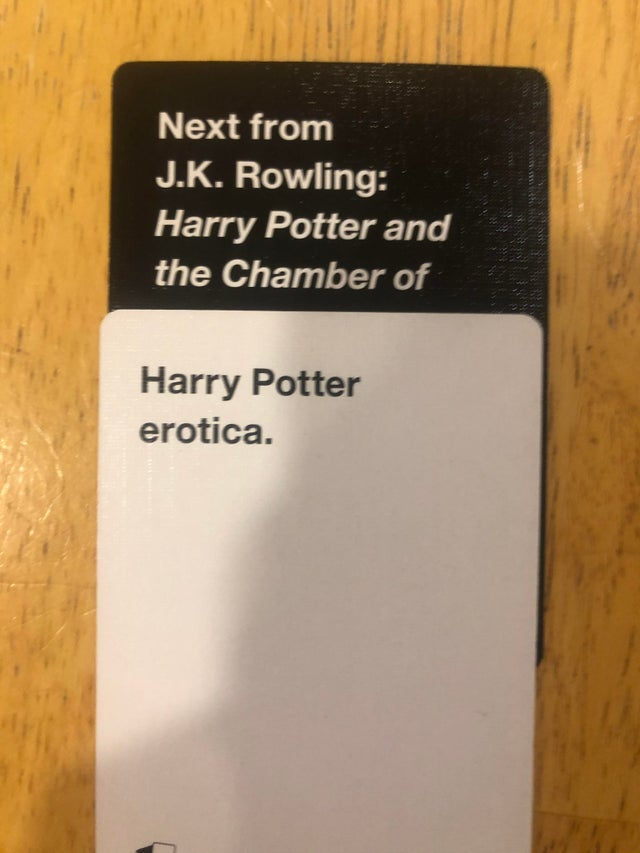 Combination 5 - Cards Against Muggles