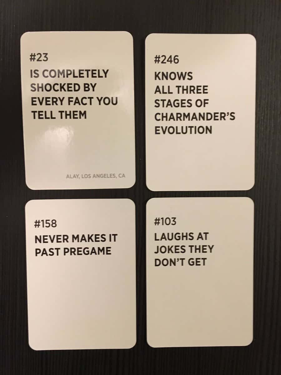 Drunk Stoned Or Stupid Cards